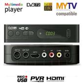 马来西亚Myfreeviw decoder DVB T2 MEGOGO TUNNER WIFI Receiver