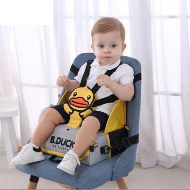 178.00元包邮B.Duck婴儿宝宝儿童餐椅包可折叠便携式吃饭餐桌座椅子学坐妈咪包