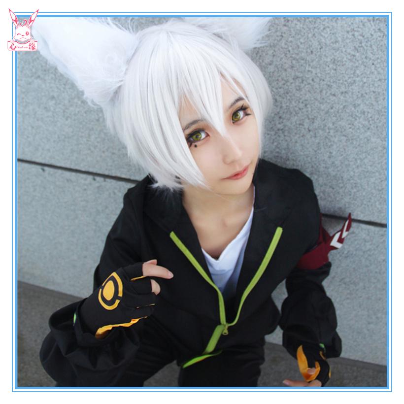 心缘cosplay 凹凸世界鬼狐cos服鬼狐天冲cosplay服装耳朵尾巴假发