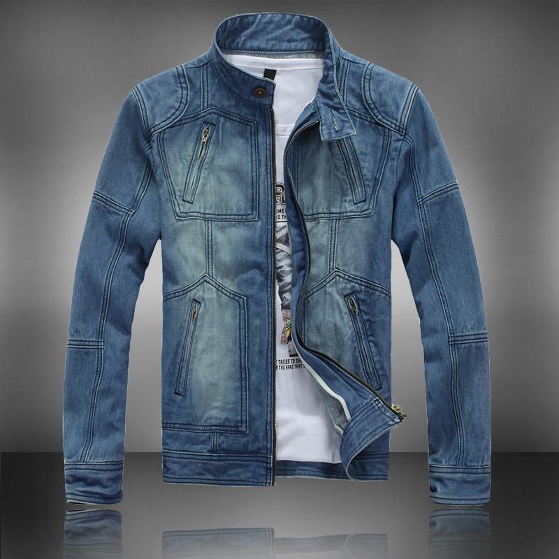 Весенний прилив тонкий Корейский воротник повседневные мужские джинсы куртка Джинсы Гуа одежда джинсы мужские куртки