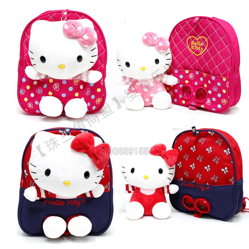Электронной почте анти-потерянный ребенок мешок корейских детей плечо мешочек Hello Kitty ясли для мальчиков