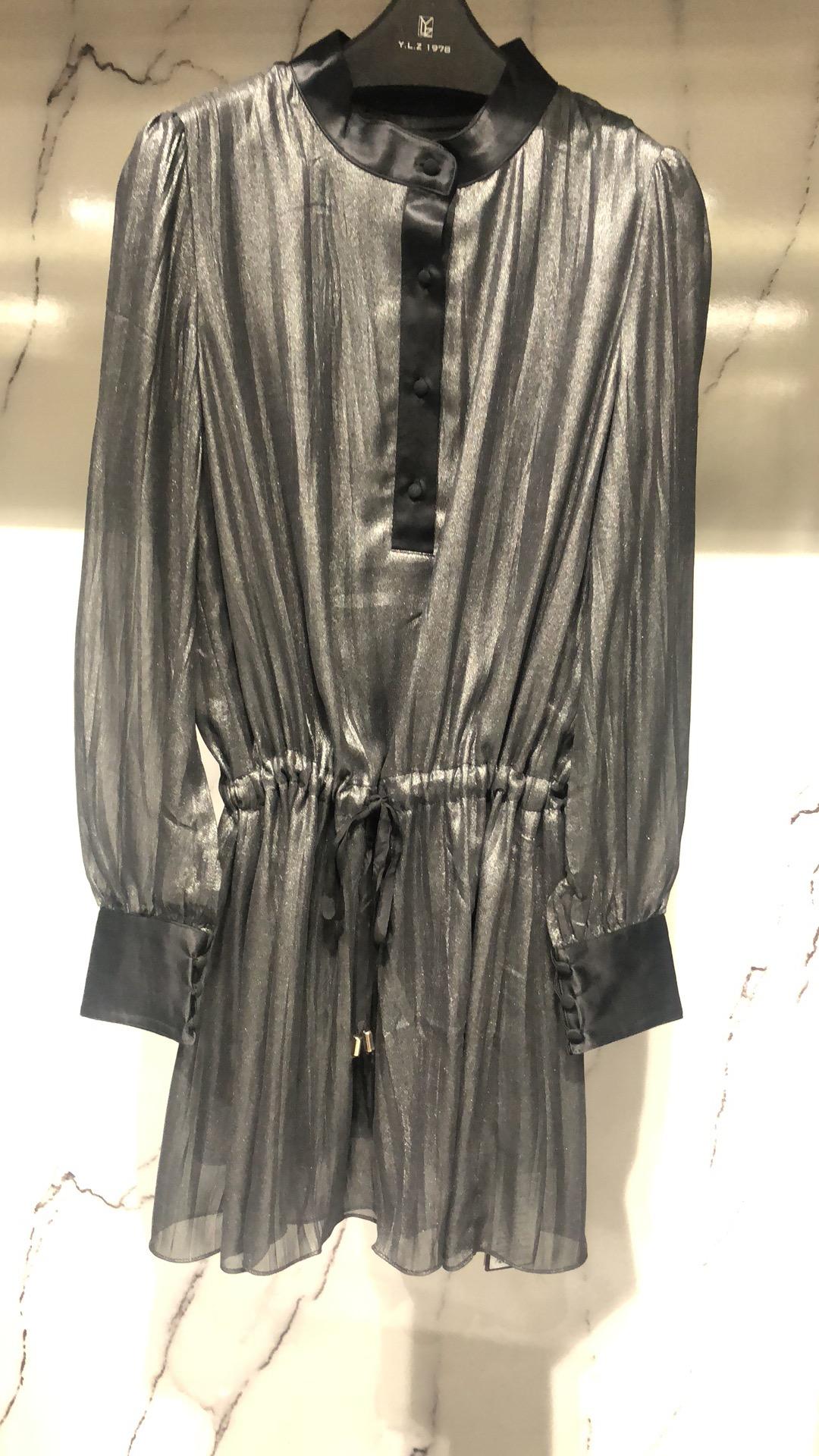 轻奢女装设计师品牌专柜精品连衣裙089799