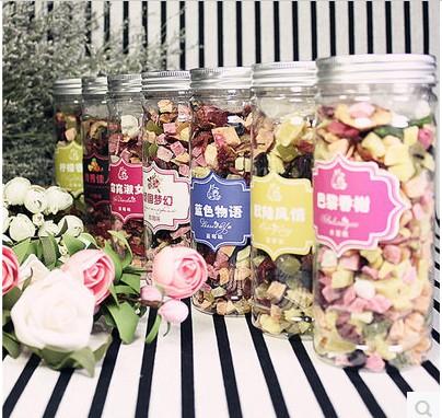 【3瓶装】包邮水果茶花果茶巴黎香榭果粒花茶洛神玫瑰蓝莓柠檬