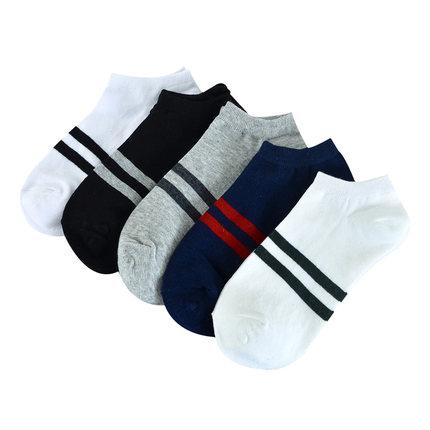 男士短筒四季运动防滑薄款运动袜子