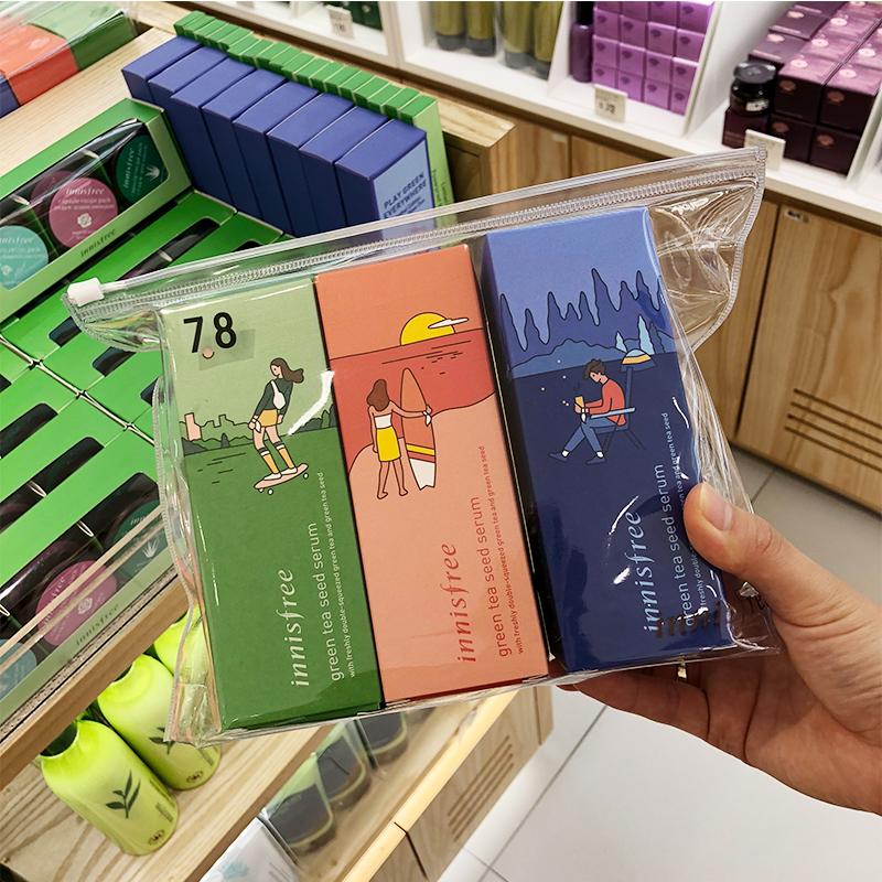 韩国Innisfree悦诗风吟19年限量版160ml绿茶平衡型保湿精华肌底液图片