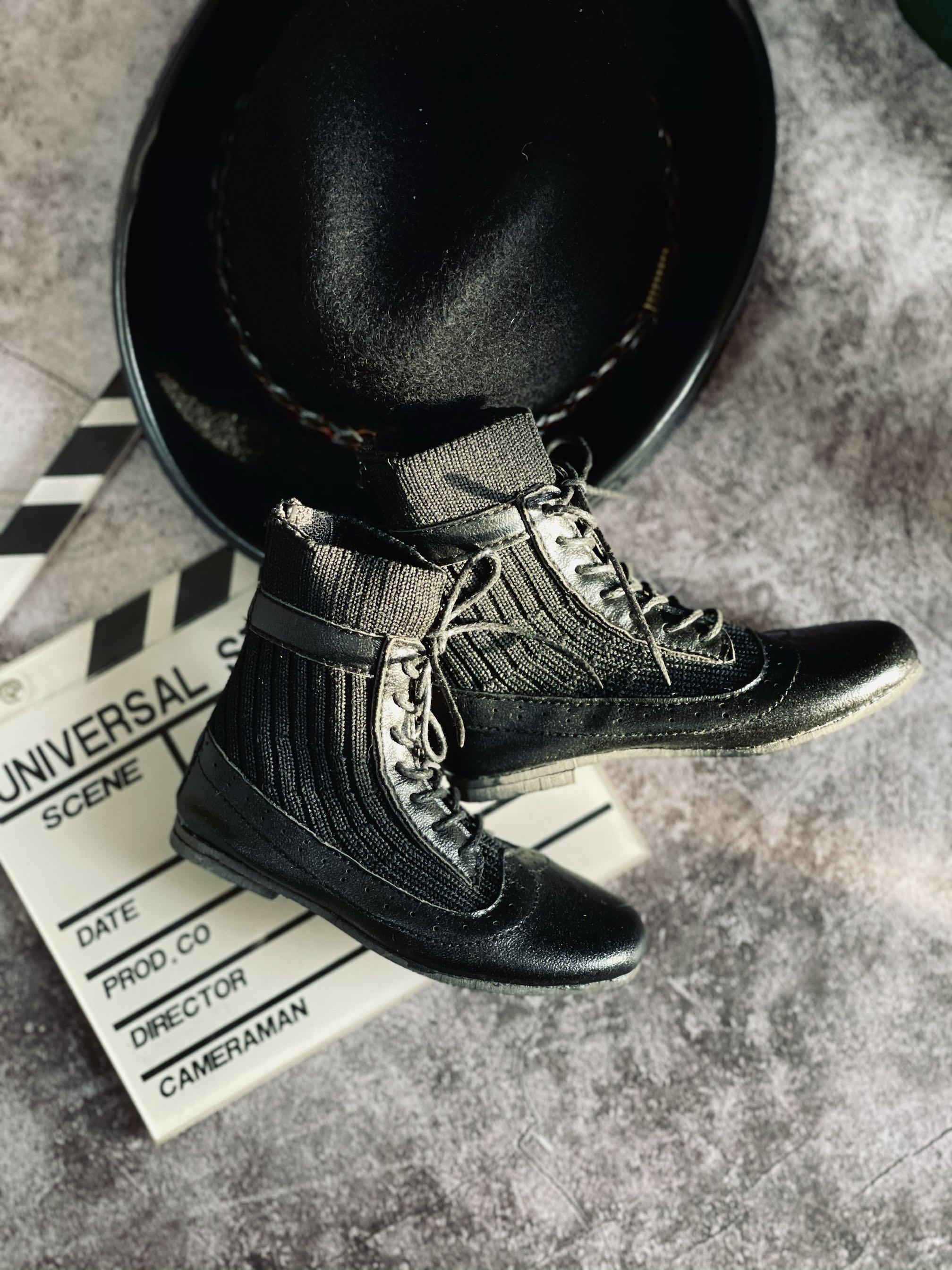 落叔家bjd娃用鞋子袜子短靴3分及叔叔尺寸软皮靴子贴合脚型