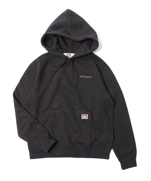 Tokyo direct mail Ben Davis Europe and America simple hooded embroidery Pullover mens sweater
