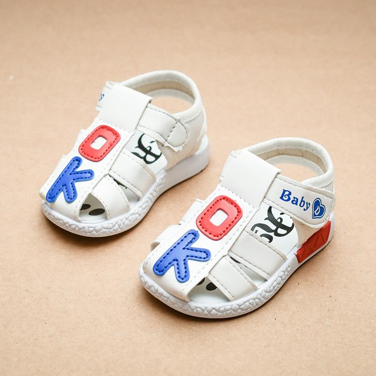夏季1-3歲男寶寶涼鞋學步鞋韓版 兒童鞋女寶寶鞋嬰兒鞋軟底單鞋潮