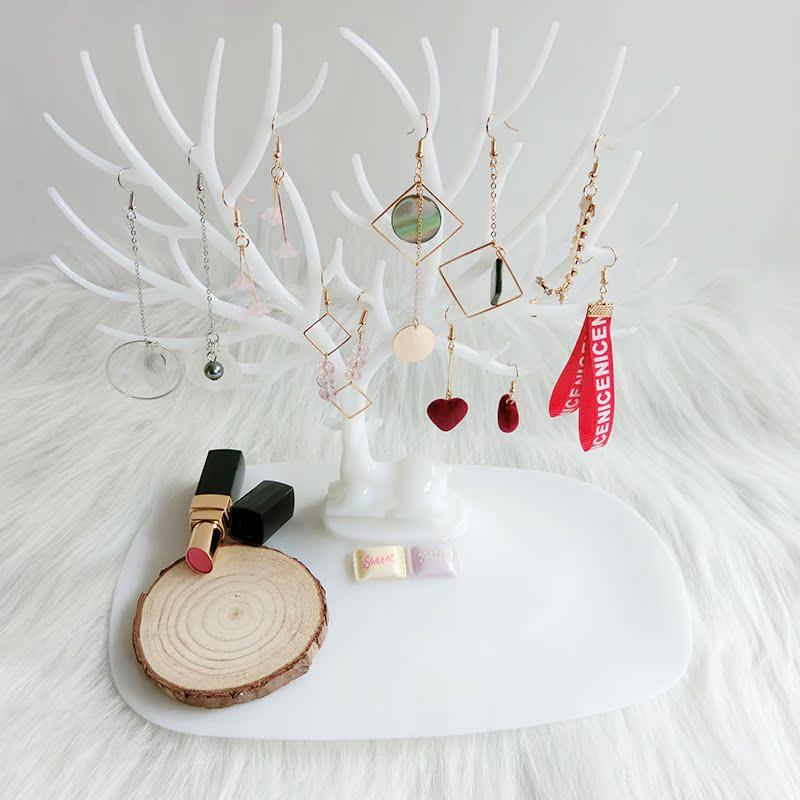 Anya鹿角树形创意首饰展示架耳环架手镯手链饰品收纳盒首饰架挂架