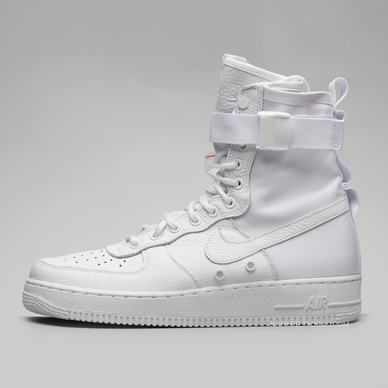 牛哄哄 Nike Special Field Force 1 SF 全白 休闲板鞋903270-100