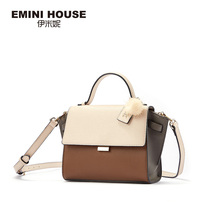 Emily bag women's bag new fall 2019 fashion handbag One Shoulder Messenger delicate color matching wing bag women
