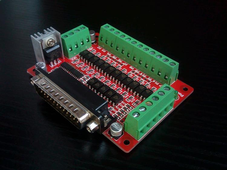 CNC интерфейс доска и рот DB25 фотоэлектрический изоляция свет развязка EL817
