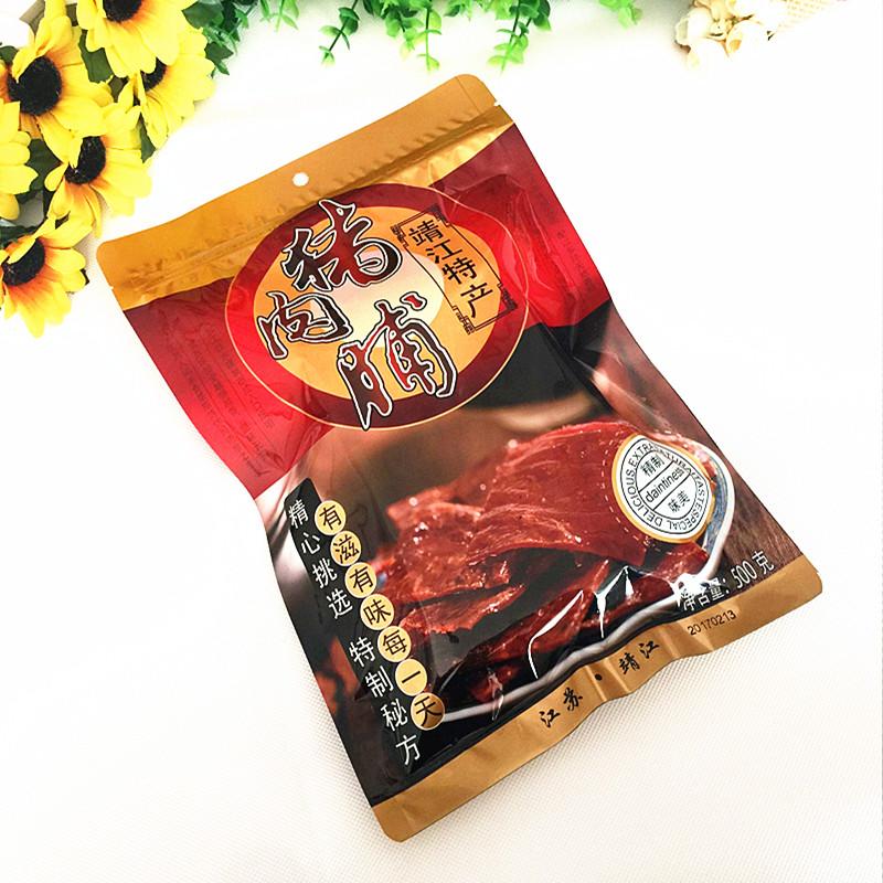 特价 靖江特产散装猪肉脯正宗优质猪肉干正片副片付片500g瘦肉34.00元包邮