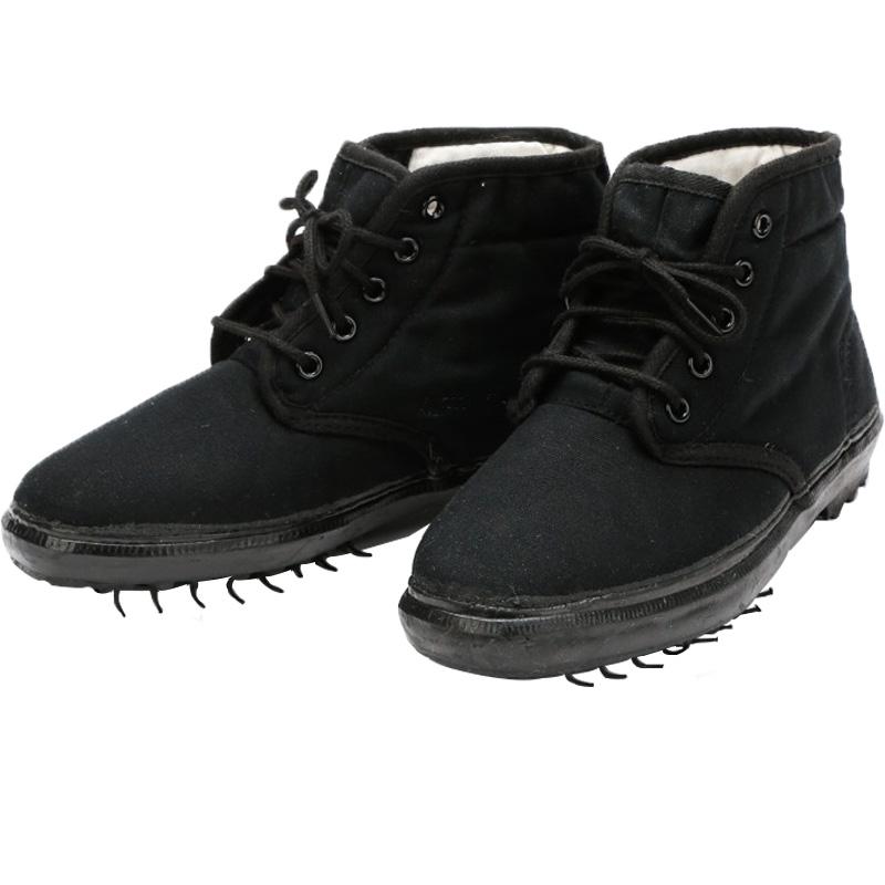 薄棉布鞋冬天辅助防寒鞋3520男棉鞋