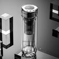 茶马仕钻石水晶双层防烫商务玻璃杯