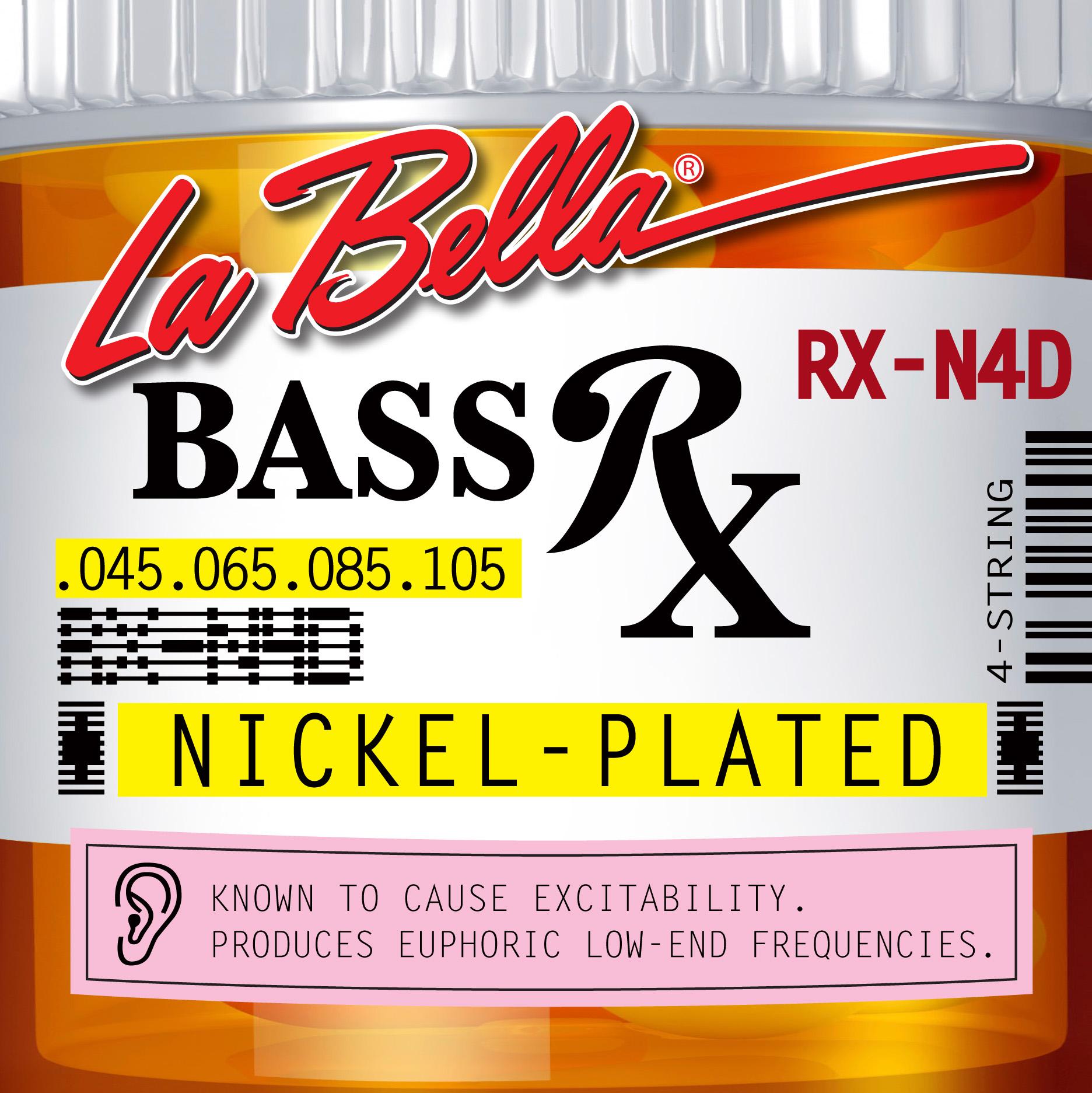 【Музыкальный инструмент Юань】Серия La Bella RX Нержавеющая сталь / никелированная 4-струнная / 5-струнная / 6-струнная электрическая липа