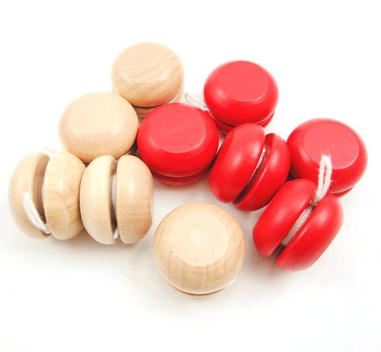 Специальное предложение ребенок скольжение скольжение мяч головоломка yoyo мяч ребенок головоломка игрушка барабан деревянный неторопливый выносящий количество