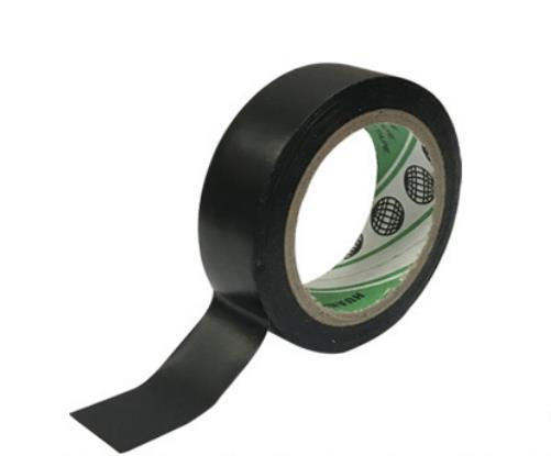黑色 电工胶带 1.8CM宽 电气防水绝缘PVC胶布 电子线电线阻燃防火