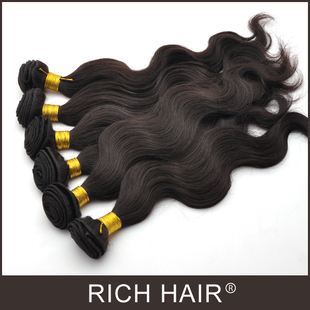 Body Wavy 1B# Brazilian Hair Extension 蛇曲真人发帘 巴西发