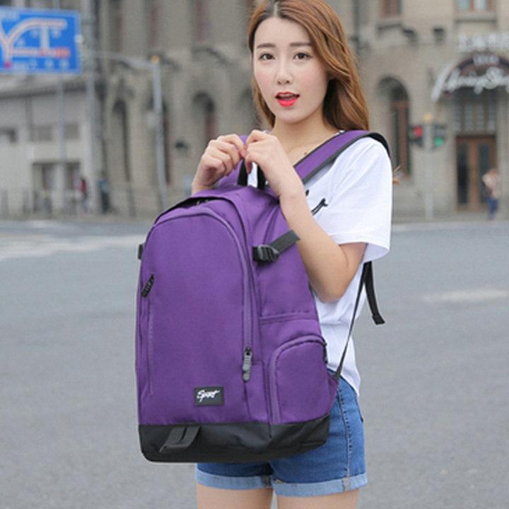 Ins super hot backpack women 2019 new backpack computer bag student schoolbag mens travel bag womens large capacity