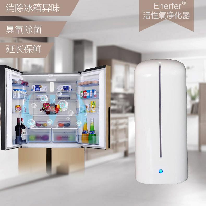 家用电子冰箱除臭剂器 去除异味 橱柜 杀菌消毒保鲜 臭氧发生器