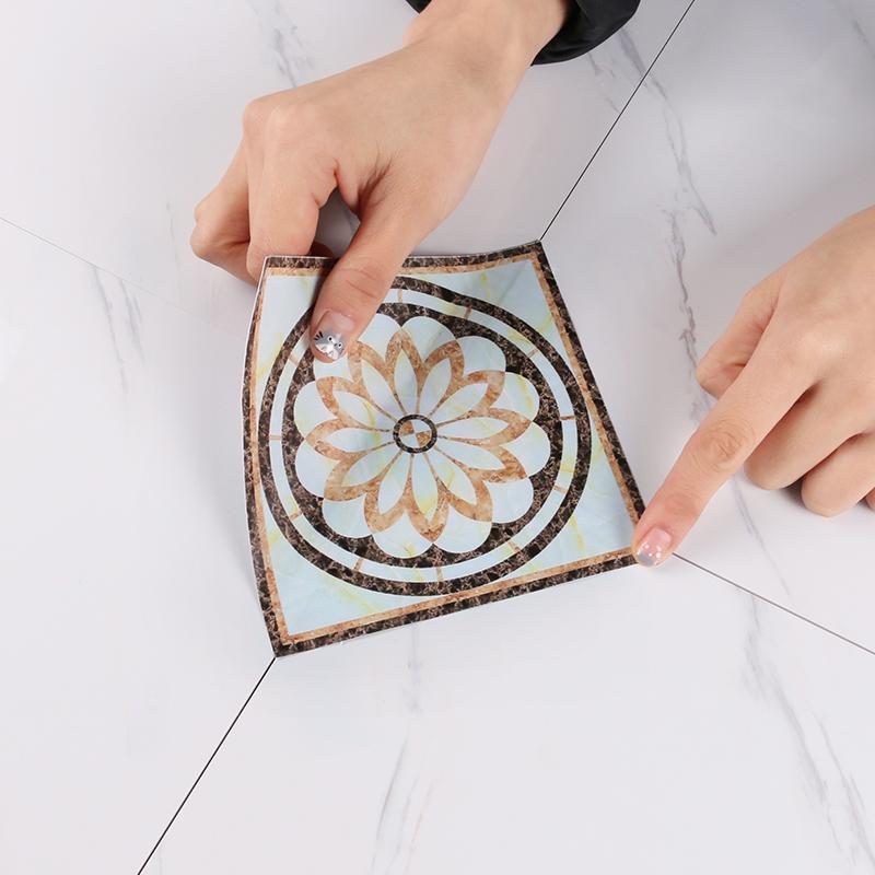 客厅地面美化装饰墙贴画欧式地板砖12月02日最新优惠