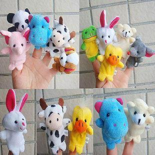 Hand puppet super special paternity essential double with foot animal finger even one yuan month package of 10