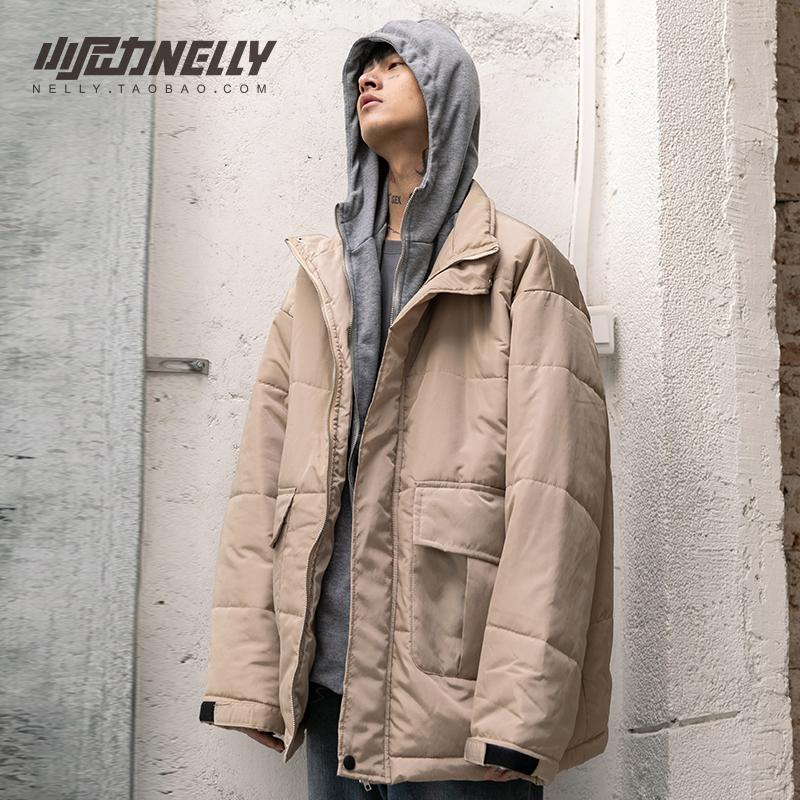 冬季棉服男韩版潮流国潮oversize工装服冬装2020年新款面包服棉衣图片
