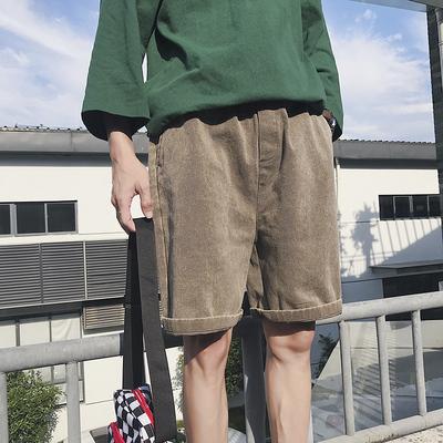 2019夏季新款男士休闲百搭短裤牛仔短裤男808A-KZ518-P45 限价55