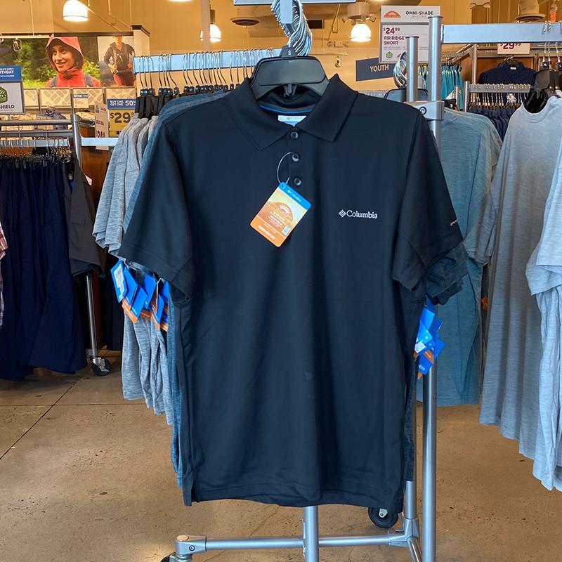 纽约大宝 Columbia/哥伦比亚男防晒速干吸湿排汗短袖POLO衫XM6449