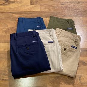 秋季新款 纽约大宝 Brooks Brothers/布克兄弟男士纯色休闲长裤