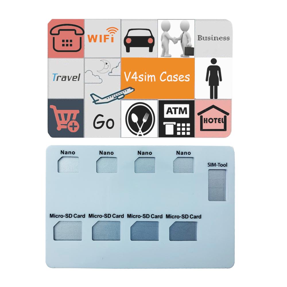 11月28日最新优惠Nano卡TF卡收纳卡便携 手机取卡针收纳包旅行出国防丢收纳