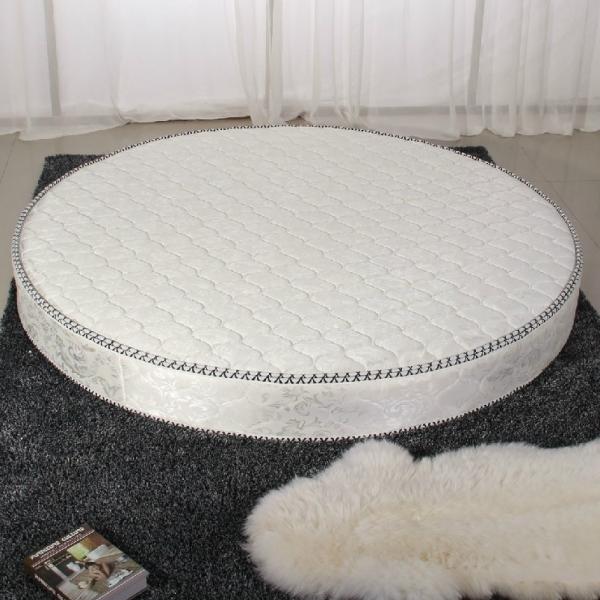Высококачественный Круглый весенний трехсторонний матрас с круглой кроватью, импортный высококачественный Ткань, круглый матрас.