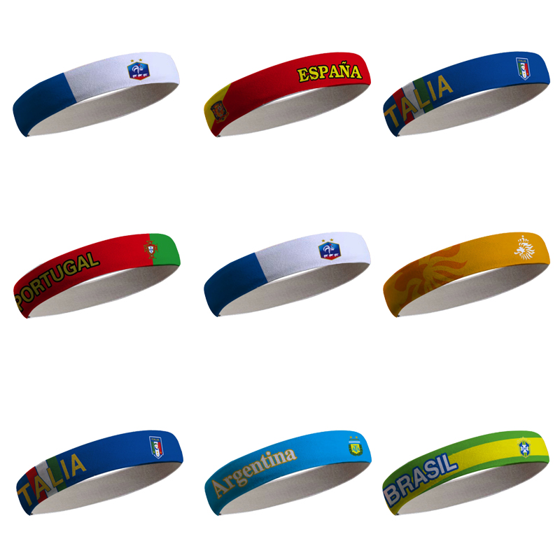 European Cup fans equip Spain, Italy, Portugal, Netherlands and France with a football hair band