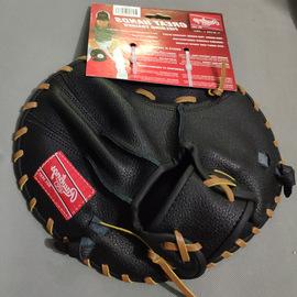 rawlings 牛皮内场内野守备训练用平板棒球垒球手套图片