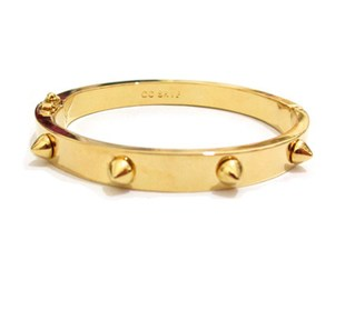 Brand popular explosion models Must have CC SKYE small gold plated bracelet rivets genuine buyers love the show
