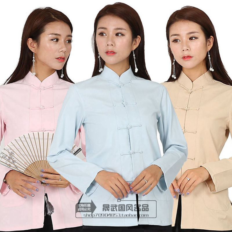 Tang womens suit top new Chinese style fashion improved young wedding dress coat Chinese Hanfu shirt