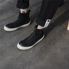 高品质复古真皮男靴子素面切尔西短靴欧美时尚皮靴108 J12-3 P235