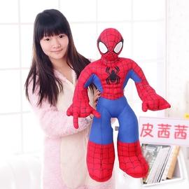 大号超凡蜘蛛侠公仔 毛绒玩具玩偶超人钢铁侠生日礼物 布娃娃图片