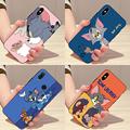 动漫猫和老鼠魅族16X/魅族X8魅族16S/V8标配手机壳保护套情侣卡通