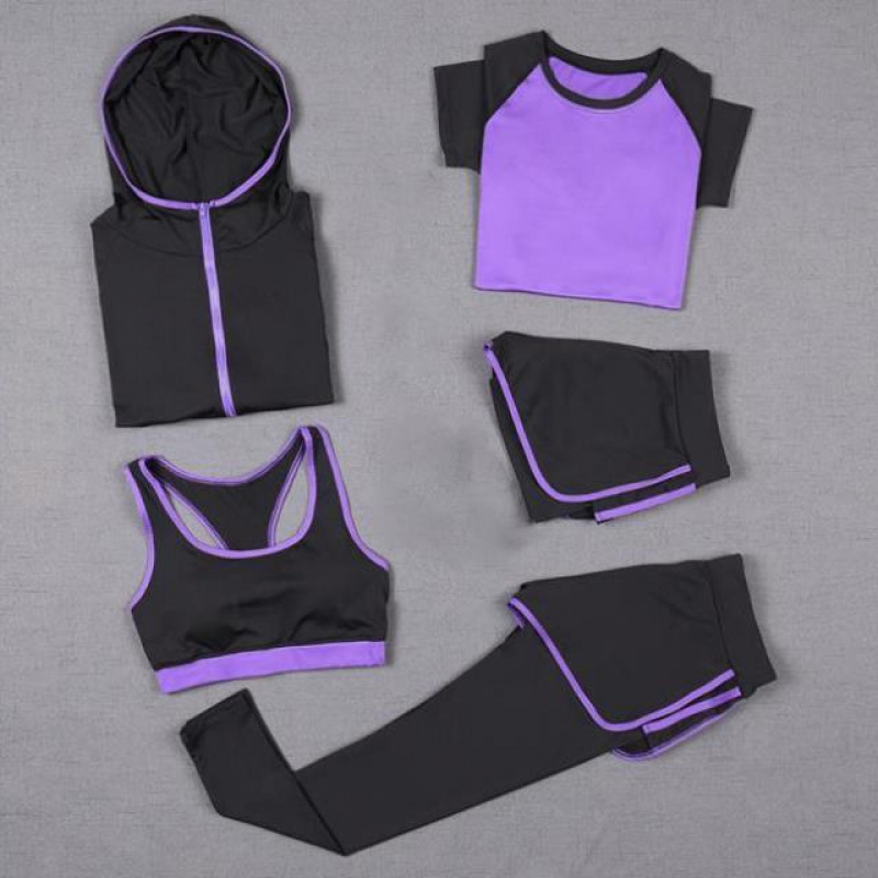 Good looking Yoga Fitness suit for women is thin, covering the flesh, small, fresh, beautiful, breathable, casual and fashionable