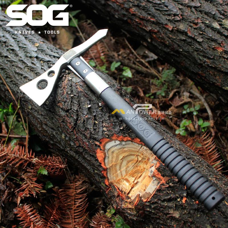 上海总代 SOG/索格 TomaHawk 印第安 野营开山斧 破拆斧 户外斧