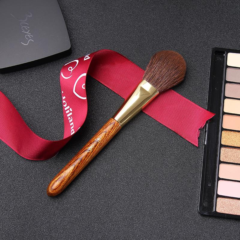 画易彩木化妆刷单支腮红高光眼影散粉刷套装小马毛美妆彩妆工具