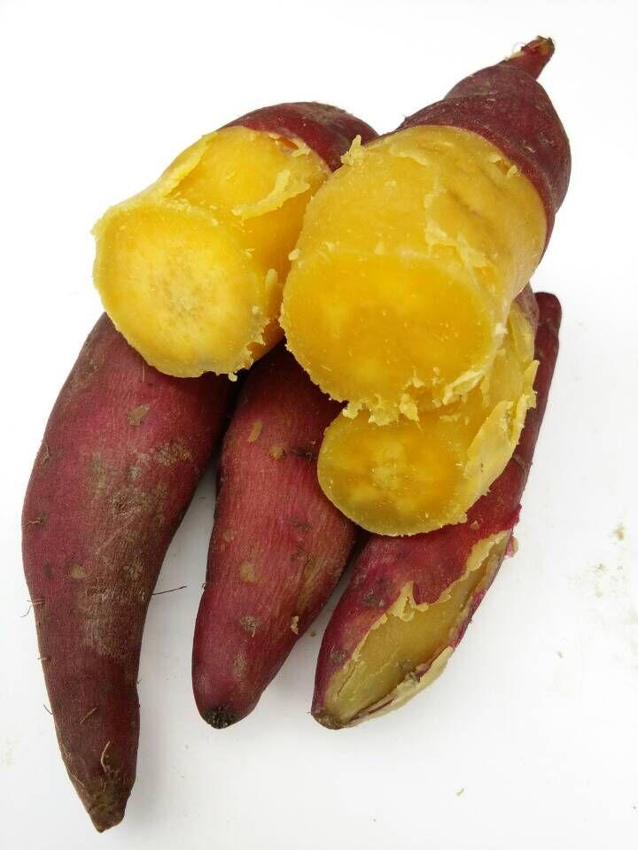 2018年临安正宗红薯新鲜黄心山芋天目小香薯地瓜番薯 5斤包邮