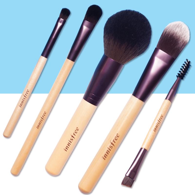 pony推荐化妆刷子套韩国悦诗风吟蜜粉刷眼影刷眉刷粉底刷彩妆工具