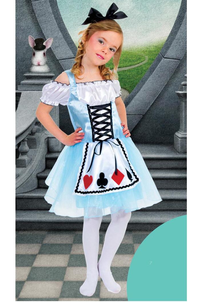 Princess Dress Carnival childrens dress Alice show dress