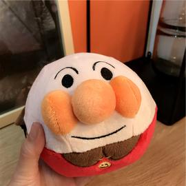 日本面包超人跳跳球 毛绒公仔电动玩具跳跳跳音乐不倒翁