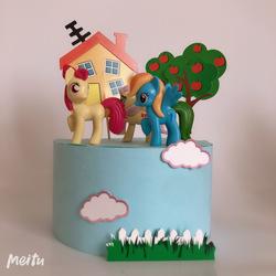 蛋糕装饰小马宝莉玩具小马宝莉人物组合12只主角装 女孩公主蛋糕
