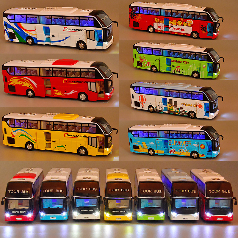 �p�公交�模型公共汽�仿真合金�p�影褪客婢哕��_�T大��和�男孩