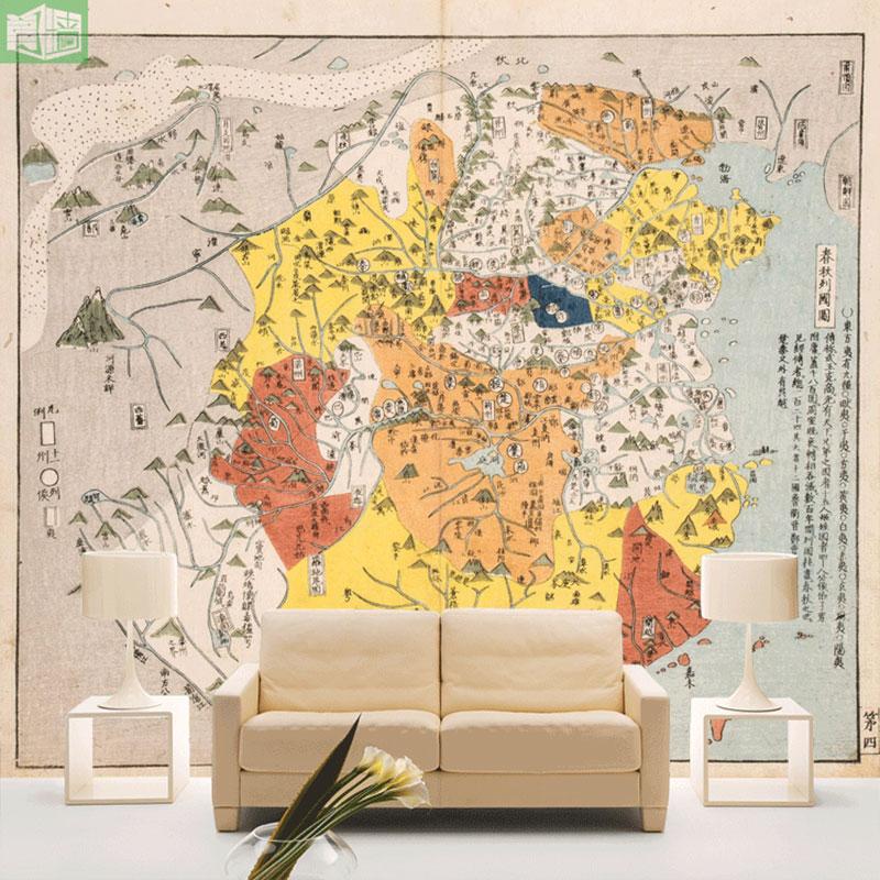 春秋戦国時代の地図の壁紙